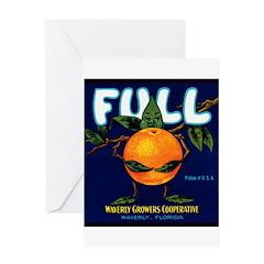 Full Oranges Greeting Card