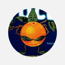 """Full Oranges 3.5"""" Button"""