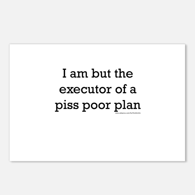 Cute Execution Postcards (Package of 8)