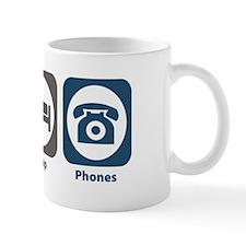 Eat Sleep Phones Mug