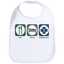 Eat Sleep Phlebotomy Bib
