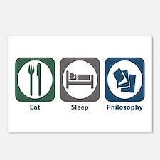 Eat Sleep Philosophy Postcards (Package of 8)