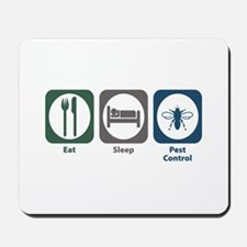 Eat Sleep Pest Control Mousepad