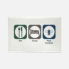 Eat Sleep Pest Control Rectangle Magnet