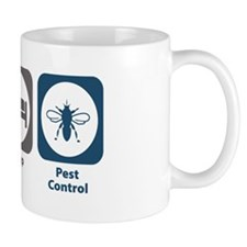 Eat Sleep Pest Control Mug