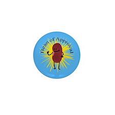 Bob The Bean Approves Mini Button