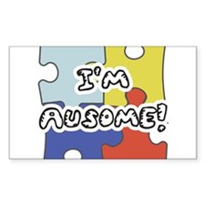 I'm Ausome Rectangle Decal