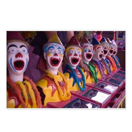 Clowns Postcards (Package of 8)