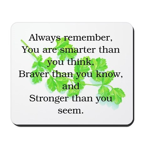 ALWAYS REMEMBER.. Mousepad