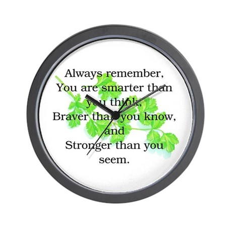 ALWAYS REMEMBER.. Wall Clock