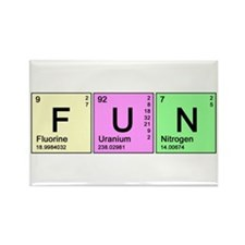 Periodic Fun Rectangle Magnet (10 pack)
