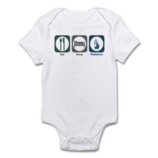 Eat Sleep Pediatrics Infant Bodysuit