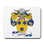 Rojas Family Crest Mousepad