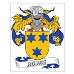 Rojas Family Crest Small Poster
