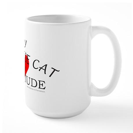 BALINESE CAT Large Mug