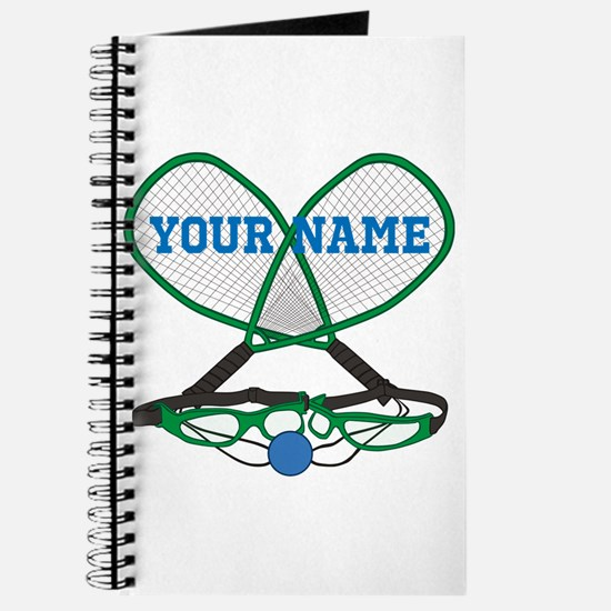 Personalized Racquetball Journal