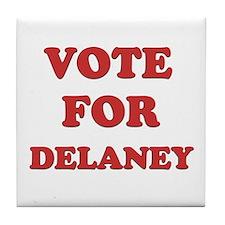 Vote for DELANEY Tile Coaster