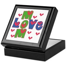 Love Mom Mother's Day Keepsake Box