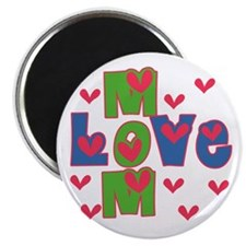 Love Mom Mother's Day Magnet