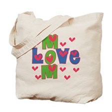 Love Mom Mother's Day Tote Bag
