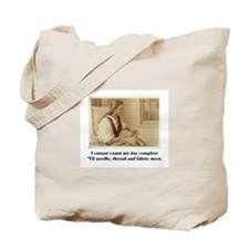 Needle, Thread and Fabric - S Tote Bag