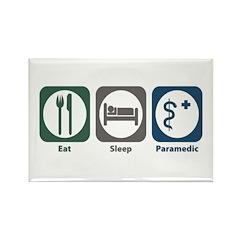 Eat Sleep Paramedic Rectangle Magnet