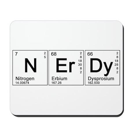 Periodic Nerd Mousepad