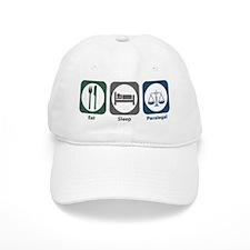 Eat Sleep Paralegal Baseball Cap