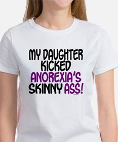 Kicked Anorexia's Ass 1 (Daughter) Tee