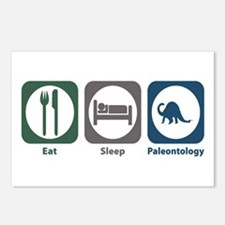 Eat Sleep Paleontology Postcards (Package of 8)