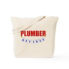 Retired Plumber Tote Bag