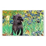 Irises / Cairn (#17) Sticker (Rectangle)