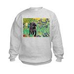 Irises / Cairn (#17) Kids Sweatshirt