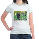 Irises / Cairn (#17) Jr. Ringer T-Shirt