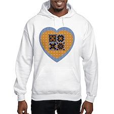 Quilt Heart Hoodie
