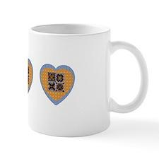 Quilt Heart Mug