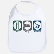 Eat Sleep Paintball Bib