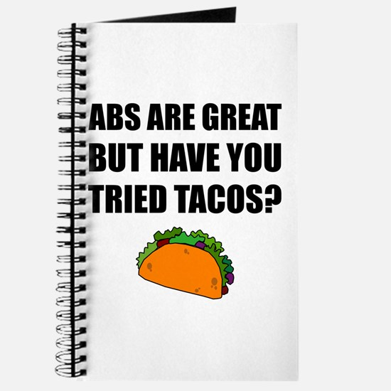 ABS Great Tried Tacos Journal