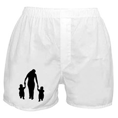 Mother and Children Boxer Shorts