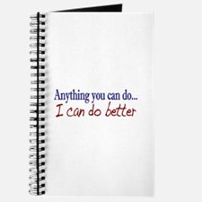 Anything you can do Journal