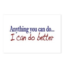 Anything you can do Postcards (Package of 8)