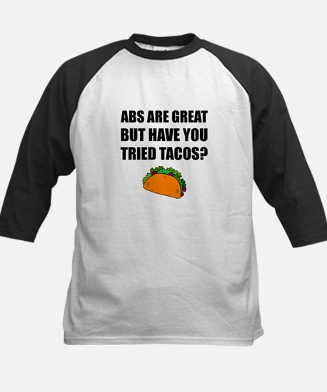 ABS Great Tried Tacos Baseball Jersey