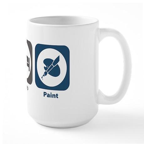 Eat Sleep Paint Large Mug