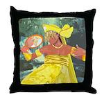 Oshun yeye Throw Pillow