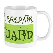 EAT . SLEEP . BREATHE Colorguard Mug