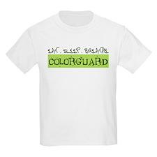 EAT . SLEEP . BREATHE Colorguard T-Shirt