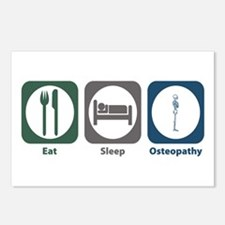 Eat Sleep Osteopathy Postcards (Package of 8)