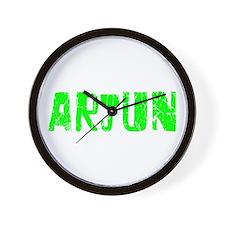 Arjun Faded (Green) Wall Clock