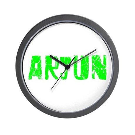 Arjun Faded (Green) Wall Clock