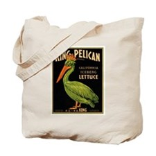 King Pelican Tote Bag